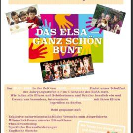 Kleines Schulfest am 30. Juni 2018