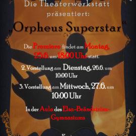 Aufführungen Theaterwerkstatt