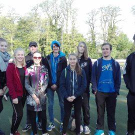 Elsa Sporthelfer- Team hilft beim Grundschulsportfest der Ruhrschule