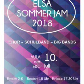 ELSA SOMMER JAM steht kurz bevor
