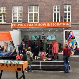 "Die ""Kolping Roadshow Integration"" zu Gast am ELSA"