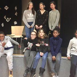 Elsa Schülerinnen engagiert in der Wunderschule