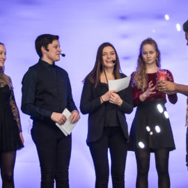 Party of excellence: Schulgemeinschaft zeichnet die Besten aus