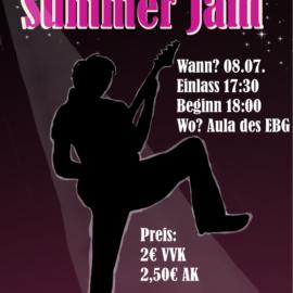 Summer Jam lässt das Schuljahr rockig ausklingen