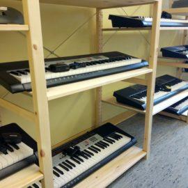 Musikräume erstrahlen in neuem Glanz