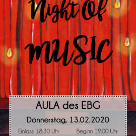 "Das ELSA lädt zur ""Night of music"""