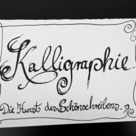 Kalligraphie Wettbewerb